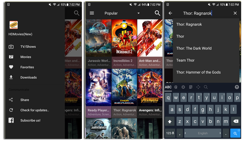 cinema hd android app