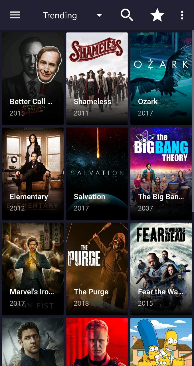 Movie Play Red App Interface on Android/iOS