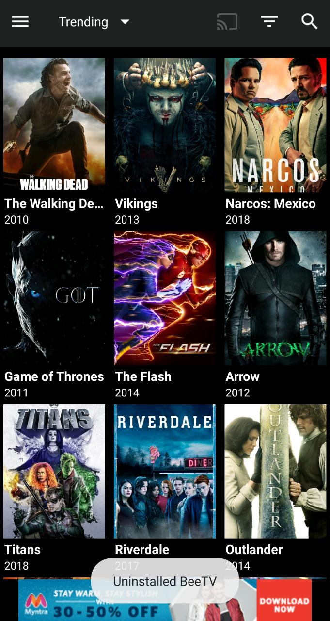 BeeTV App Movies - Terrarium TV