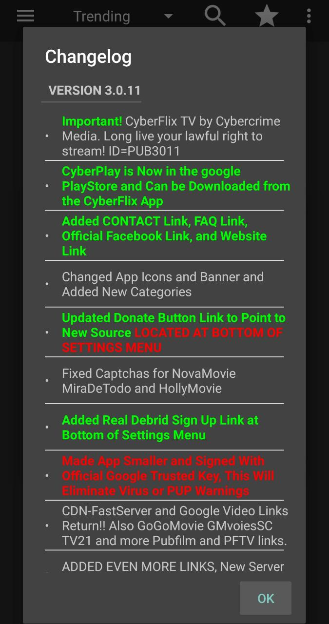 CyberFlix TV APK Download