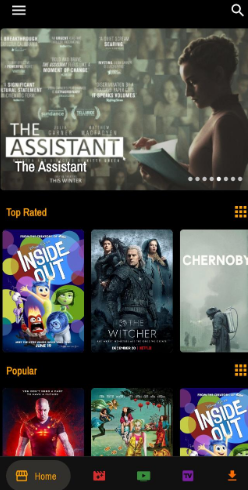 Watch Movies with MOTV App
