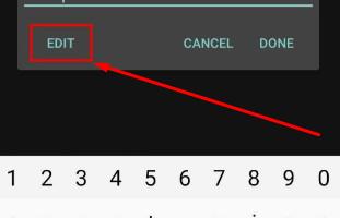 Edit 'CyberFlix TV Password'