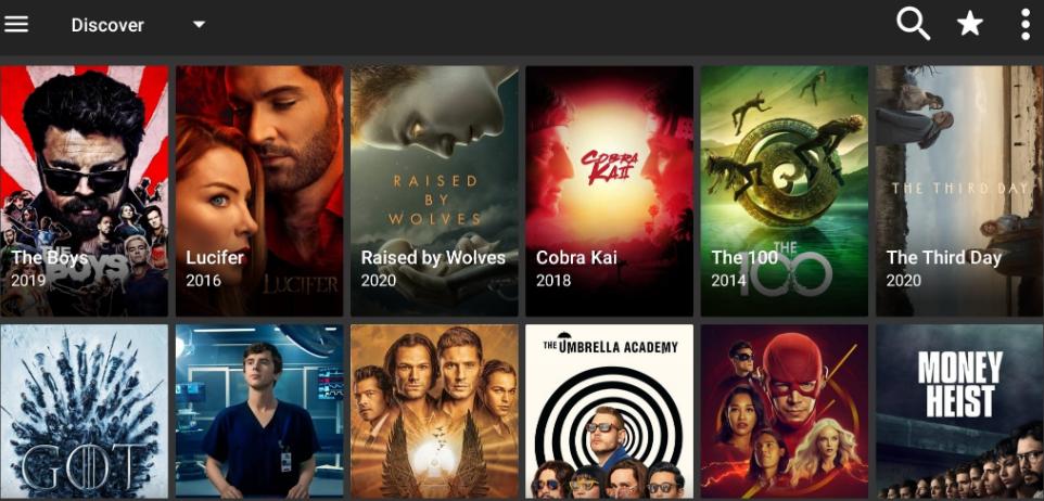 FilmPlus Movies UI on Android